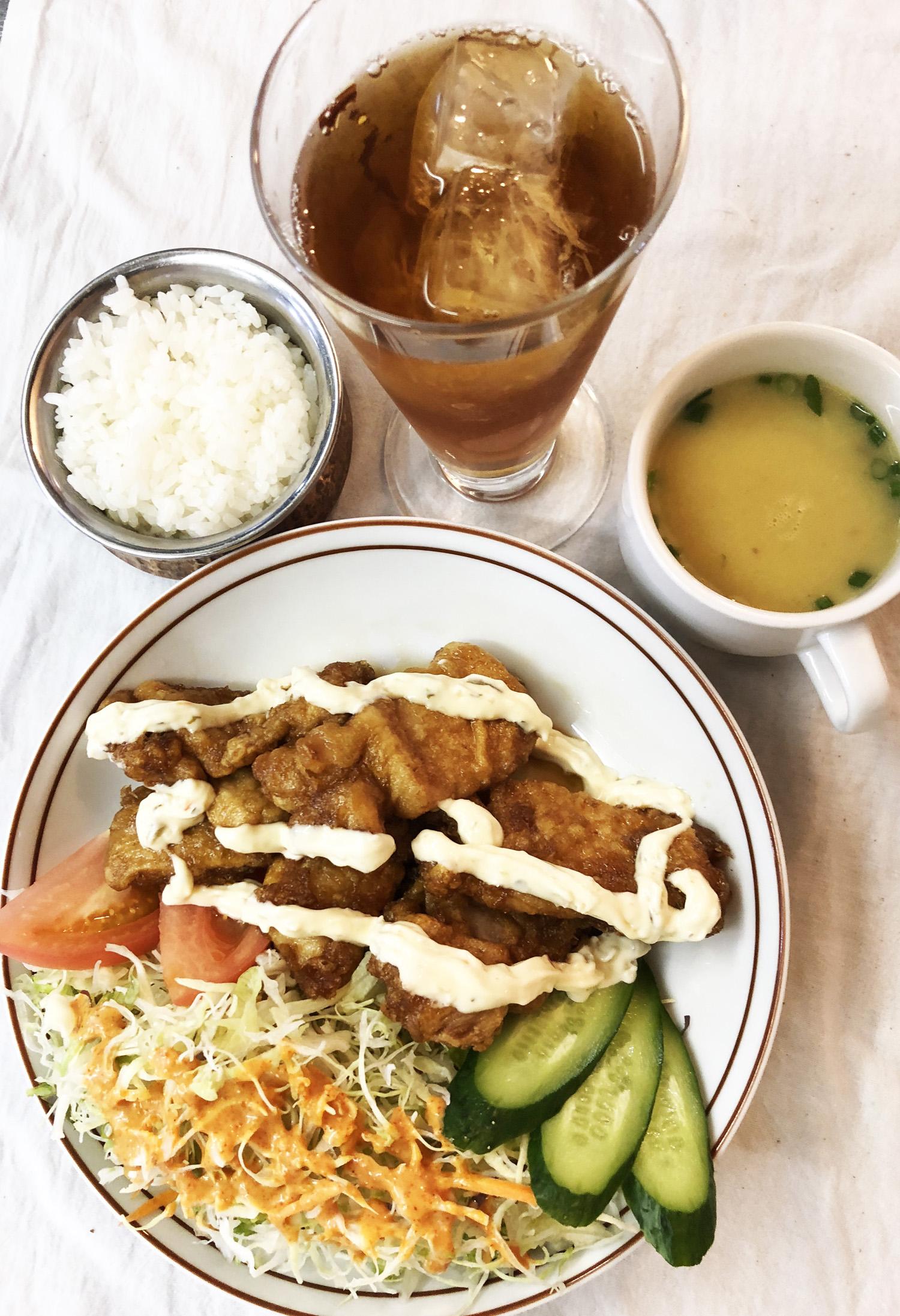 Chicken Namban Set
